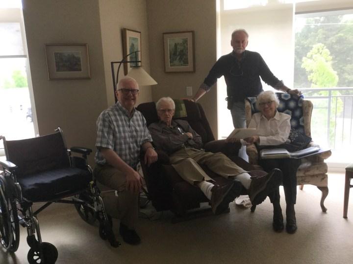 with the elders