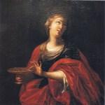 """Anonimo sec. XVIII - """"Santa Lucia"""" - Cappella di Santa Lucia presso la Cattedrale di Siracusa"""