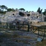 Tomba di Archimede a Siracusa - veduta