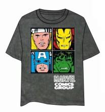camiseta-marvel-comics-group-caras