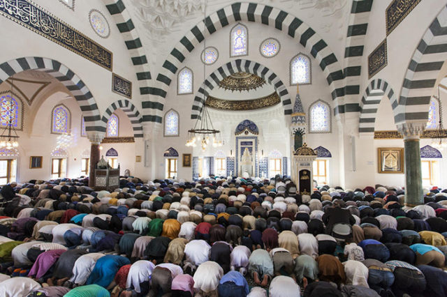 Eid al-Fitr Prayer in United States