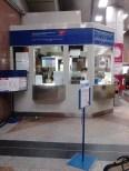 Posko petugas di stesen LRT