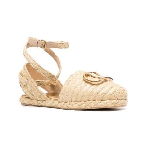Valentino Garavani VLogo raffia sandals