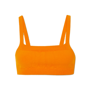 DRIES VAN NOTEN Cropped knitted top