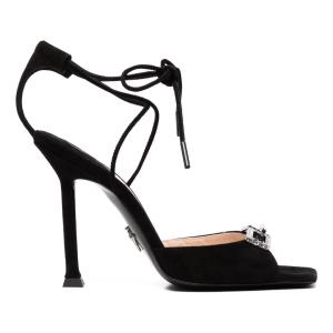 Cesare Paciotti gemstone-detailed high-heel sandals