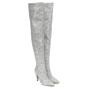 ALEXANDRE VAUTHIER Amina glitter over-the-knee boots