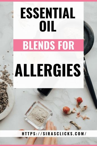 essential oil blends for allergies