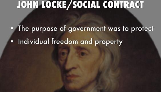 John Locke'un Toplum Sözleşmesi