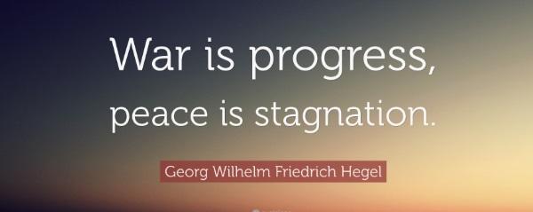 Hegel ve Savaş