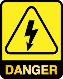 Protective Devices danger symbol