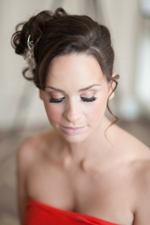 Hair and Makeup by Salon Tease with Photography by Jamie Lee Photography