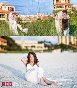 Salon Tease Marco Island Trash The Dress with Little Maria