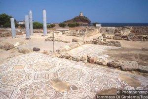 Italy, Sardinia, Nora,the ruins