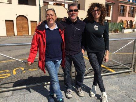 Bobo e Giusy con la mitica Sonia!