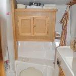 Sirena Sailing - Il bagno con doccia della Poissonniere
