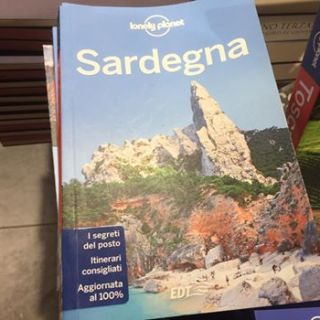 Cala Goloritze in copertina sulla guida di Lonely Planet
