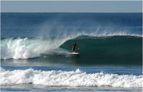 Surfing day at Playa Grande