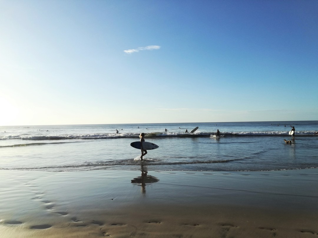 A perfect day at Tamarindo beach