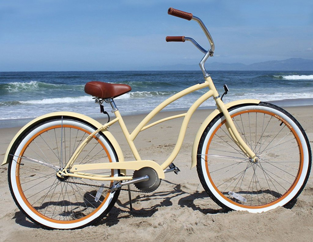 rent a bike from kellys surf shop