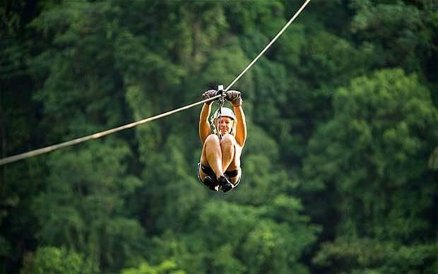Ziplining Tamarindo- free like a bird