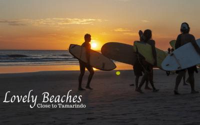 Lovely beaches close to Tamarindo