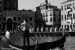 Venezia - Regata Storica 2013: Gondoliere