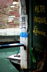 Libreria Acqua Alta: Fire Exit