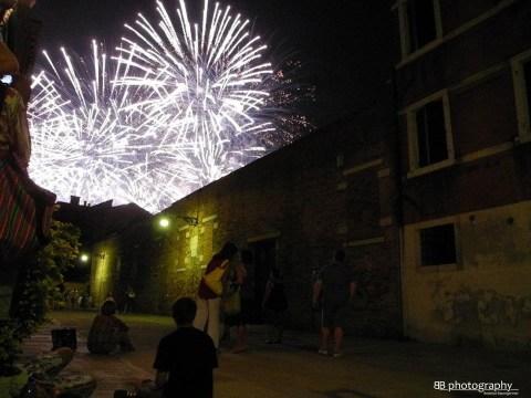 Venezia: Fuochi d'artificio