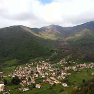 Treviso Cison di Valmarino: Vista da Castelbrando