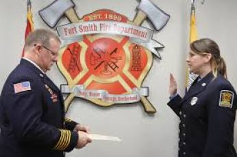 First Female Captain Hired at Fort Smith Fire Department in