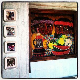 Exposición en Oaxaca. Detalle.