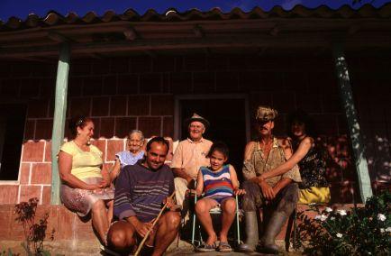 Mi familia en Viñales. Los Akuátikos.