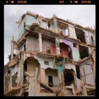 Centro Habana en ruinas.