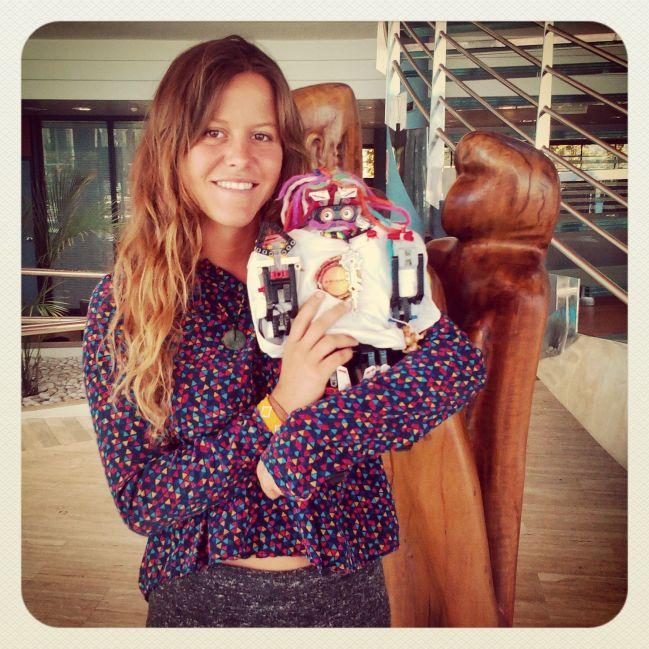 Irene redactora del Diario de Ibiza