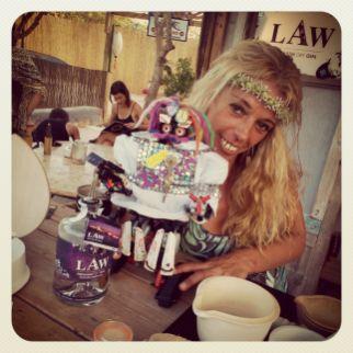 Raquel, la mejor barwoman de Ibiza