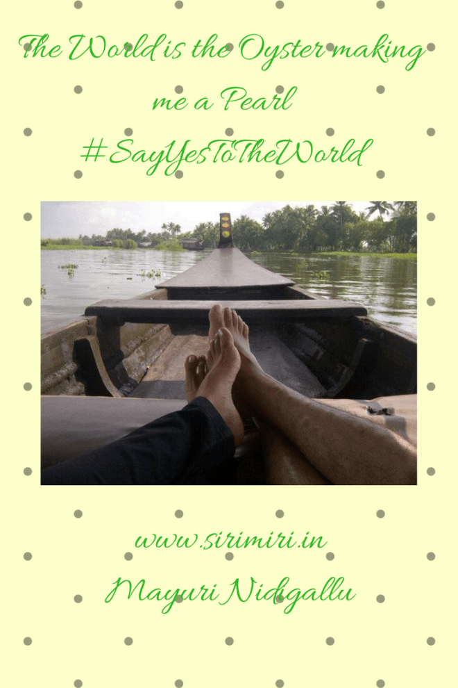 Sirimiri- World Oyster-Pearl #SayYesToTheWorld