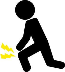 膝痛イラスト シルエット画像