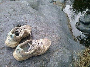 Akhir perjalan sepatu tercinta