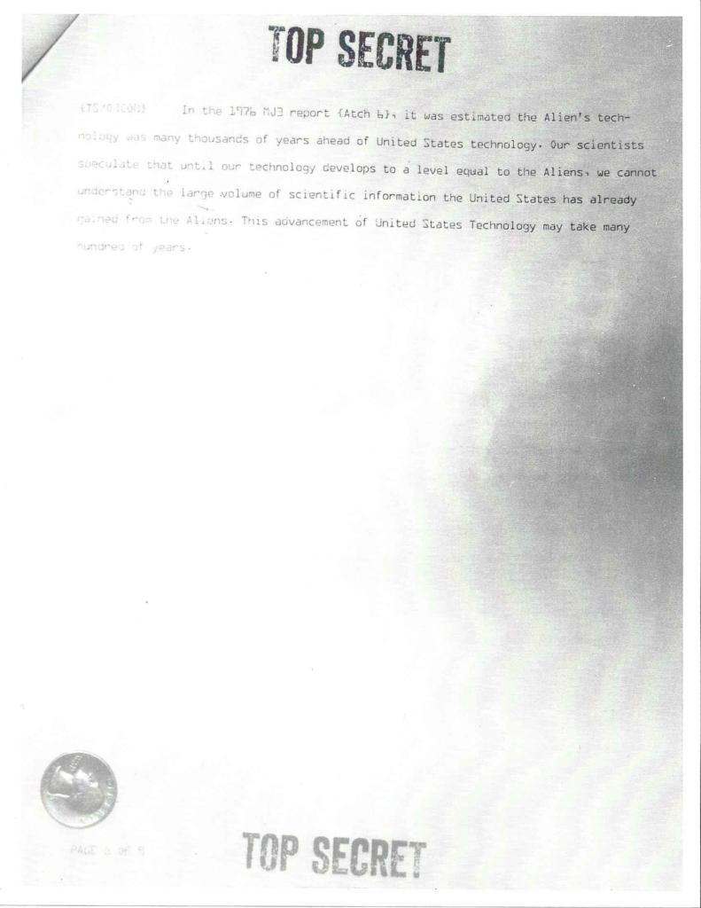 Project Aquarius Executive Correspondence, pg. 8 of 9