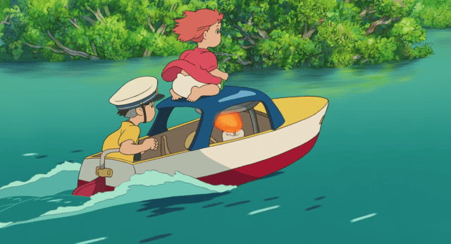 Ponyo on the Cliff by the Sea 3