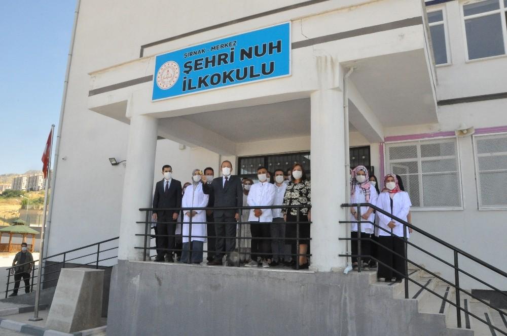 Vali Pehlivan, Şırnak'ta ilk ders zilini çaldı
