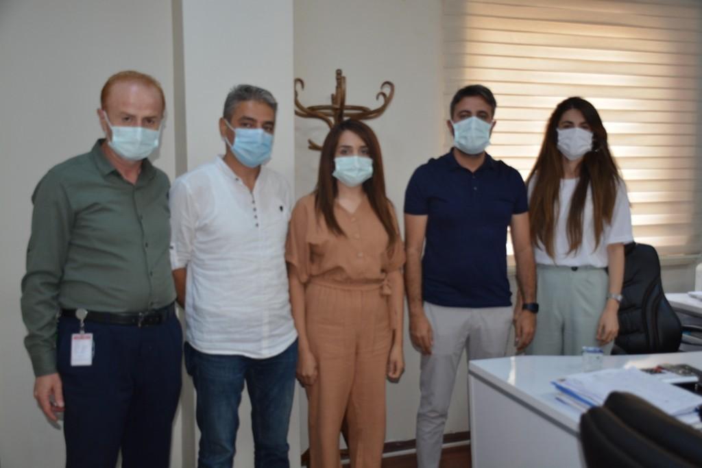 Şırnak'ta sivil toplum kuruluşlarından aşı çalışmalarına destek