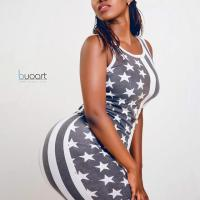 Stunning Photos Of The Lady With The Biggest Most Gigantic Hips In Kenya Bye Vera Sidika