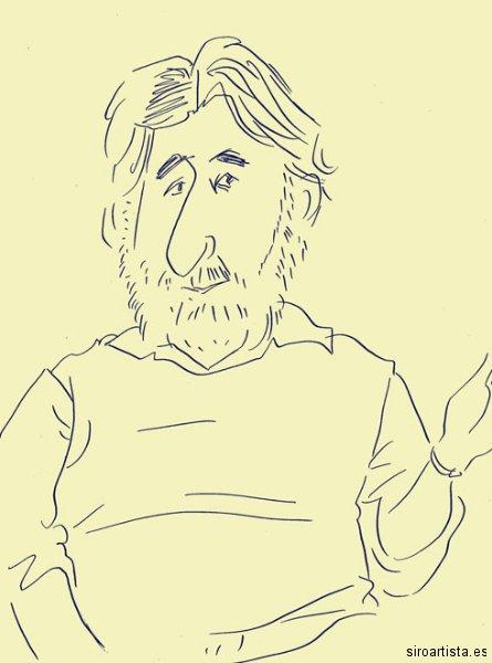 Amigos de David Hockney: Tom Phillips