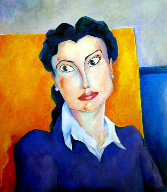 Óleo sobre lienzo. 50cm x 61cm.2004