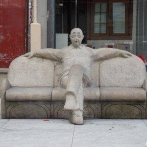 Obra pública: Praza do Humor de A Coruña