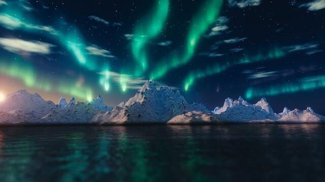 ザテラー怪物トゥンバック-北極のオーロラ