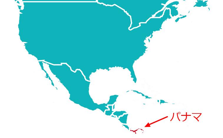 プリズンブレイク-SONAパナマ地図