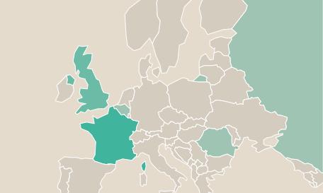 ザミッシングシーズン1欧州地図