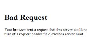 Firefox400Badrequest